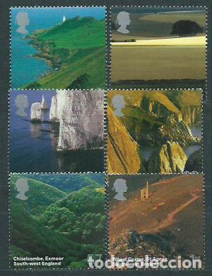 GRAN BRETAÑA - CORREO 2005 YVERT 2616/21 ** MNH (Sellos - Extranjero - Europa - Gran Bretaña)