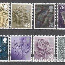 Sellos: GRAN BRETAÑA - CORREO 2007 YVERT 2877/84 ** MNH. Lote 153995641
