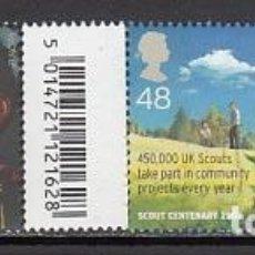 Sellos: GRAN BRETAÑA - CORREO 2007 YVERT 2916/7 ** MNH SCOUTISMO. Lote 153995665