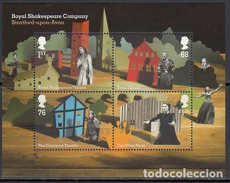 GRAN BRETAÑA - CORREO 2011 YVERT 3487/90 ** MNH SHAKESPEARE (Sellos - Extranjero - Europa - Gran Bretaña)