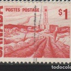 Sellos: LOTE (8) SELLOS SELLO GRAN BRETAÑA Y COLONIAS. Lote 194984587