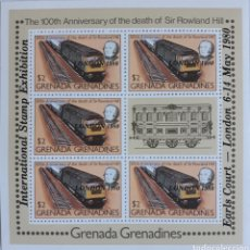 Sellos: HOJA BLOQUE GRENADA LONDRES 1980. Lote 154412646
