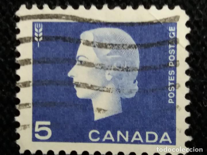 SELLOS, COLONIAS INGLESAS, CANADA 5, REINA ELIZABETH II, AÑO 1962.. (Sellos - Extranjero - Europa - Gran Bretaña)
