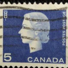 Sellos: SELLOS, COLONIAS INGLESAS, CANADA 5, REINA ELIZABETH II, AÑO 1962... Lote 154431762