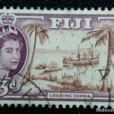 Sellos: SELLOS, COLONIAS INGLESAS, FIJI 3D, REINA ELIZABETH II, AÑO 1962... Lote 154434758