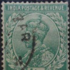 Sellos: SELLOS, COLONIAS INGLESAS, INDIA, REY GEORGE VI, 1,2A, AÑO 1926. . Lote 155979930