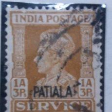 Sellos: SELLOS, COLONIAS INGLESAS, INDIA, REY GEORGE VI, 1A,3R, AÑO 1940. . Lote 155980726