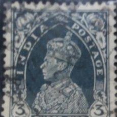Sellos: SELLOS, COLONIAS INGLESAS, INDIA, REY GEORGE VI, 3PS, AÑO 1940. . Lote 155982782