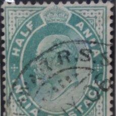 Sellos: SELLOS, COLONIAS INGLESAS, INDIA, REY GEORGE V, 1A, HALF ANNA, AÑO 1940. .. Lote 155983910