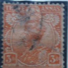 Sellos: SELLOS, COLONIAS INGLESAS, INDIA, REY GEORGE V, 3A, AÑO 1926.SOBREESCRITO. .. Lote 155985350