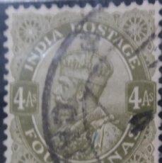Sellos: SELLOS, COLONIAS INGLESAS, INDIA, REY GEORGE V, 4AS, AÑO 1934.. Lote 155986746
