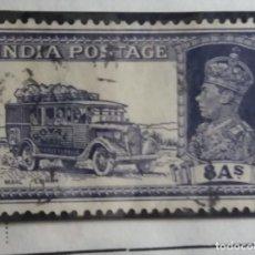 Sellos: SELLOS, COLONIAS INGLESAS, INDIA, REY GEORGE VI, 8AS, AÑO 1936.. Lote 155987950