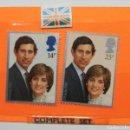 Sellos: SELLOS CARLOS Y DIANA 29 JULY 1981. Lote 160518762