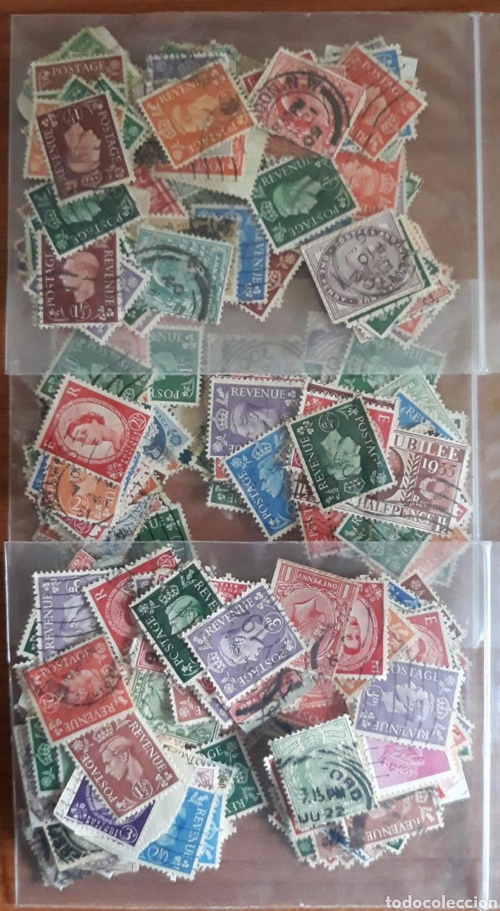 LOTE 300 SELLOS GRAN BRETAÑA (Sellos - Extranjero - Europa - Gran Bretaña)