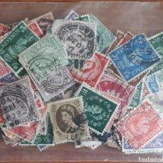 Sellos: LOTE 100 SELLOS GRAN BRETAÑA. Lote 161088065