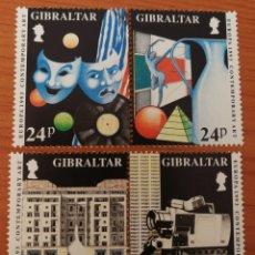Sellos: GIBRALTAR: EUROPA CEPT AÑO 1993,MNH.ARTE CONTEMPORANEO. Lote 161745885