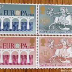 Sellos: GRAN BRETAÑA : N°1226A/1228A MNH, EUROPA CEPT 1984.. Lote 163450953