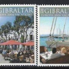 Sellos: GIBRALTAR 2004 - EUROPA - VACACIONES, S.COMPLETA - SELLOS NUEVOS. Lote 165646078