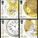 Sellos: GRAN BRETAÑA 1993 CRONOMETRADORES MARINOS MARINE TIMEKEEPERS SET 4V MNH YV 1660-1663 SG 1654-57. Lote 165800050