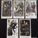 Sellos: GRAN BRETAÑA 1993 SHERLOCK HOLMES SET DE 5V MNH SG 1784-88 YT 1698-1702. Lote 165800758