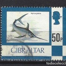 Sellos: GIBRALTAR 1977 - NUEVOS SELLOS DIARIOS - SELLO USADO. Lote 165853098