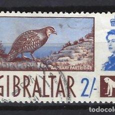 Sellos: GIBRALTAR 1960 - NUEVOS SELLOS DIARIOS - SELLO USADO. Lote 166672206