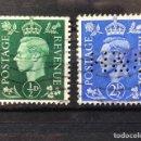 Sellos: GEORGE V 1937-1939 (6 UNIDADES). Lote 167122076