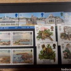 Sellos: SELLOS ISLE OF MAN AÑO 1986 298/301 Y AÑO 1987 326/329 LOTE N.212. Lote 170133361