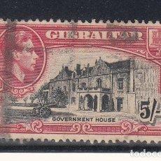 Sellos: GIBRALTAR 112 USADA,. Lote 172306817