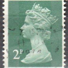 Sellos: REINO UNIDO - UN SELLO - IVERT#GB-608 - ***REINA ELIZABETH II - DECIMAL*** - AÑO 1971 - USADO. Lote 175250898