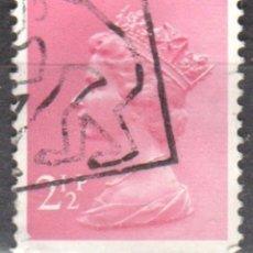 Sellos: REINO UNIDO - UN SELLO - IVERT#GB-609 - ***REINA ELIZABETH II - DECIMAL*** - AÑO 1975 - USADO. Lote 175251187
