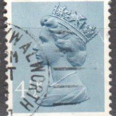 Sellos: REINO UNIDO - UN SELLO - IVERT#GB-697 - ***REINA ELIZABETH II - DECIMAL*** - AÑO 1973 - USADO. Lote 175251823