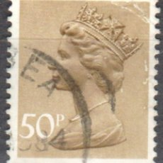 Sellos: REINO UNIDO - UN SELLO - IVERT#GB-821 - ***REINA ELIZABETH II - DECIMAL*** - AÑO 1977 - USADO. Lote 175279208