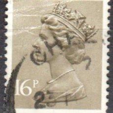 Sellos: REINO UNIDO - UN SELLO - IVERT#GB-1076 - ***REINA ELIZABETH II - DECIMAL** - AÑO 1983 - USADOS. Lote 175298724