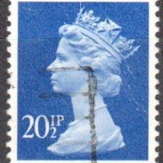 Sellos: REINO UNIDO - UN SELLO - IVERT#GB-1078 - ***REINA ELIZABETH II - DECIMAL** - AÑO 1983 - USADO. Lote 175299019