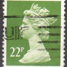 Sellos: REINO UNIDO - UN SELLO - IVERT#GB-1142 - ***REINA ELIZABETH II - DECIMAL*** - AÑO 1984 - USADO. Lote 175299595