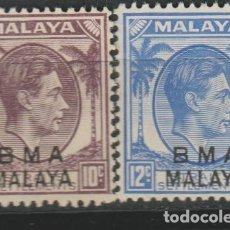 Sellos: LOTE J SELLOS MALAYA COLONIA BRITANICA NUEVOS. Lote 218700988
