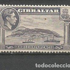 Francobolli: GIBRALTAR YVERT NUM. 104 * NUEVO CON FIJASELLOS. Lote 177638487