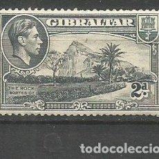 Francobolli: GIBRALTAR YVERT NUM. 105 * NUEVO CON FIJASELLOS. Lote 177638544