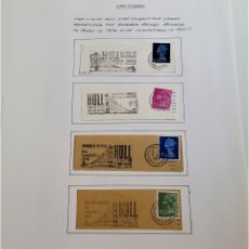 Sellos: 1970-1973 HOJA CON SELLOS GRAN BRETAÑA. Lote 177719323