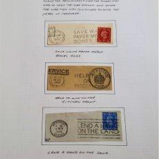 Sellos: 1940-1948 HOJA CON SELLOS GRAN BRETAÑA. Lote 177719840