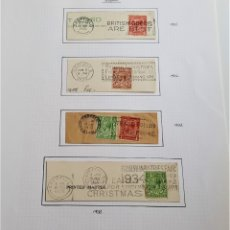 Sellos: 1925-1933 HOJA CON SELLOS GRAN BRETAÑA. Lote 177720018