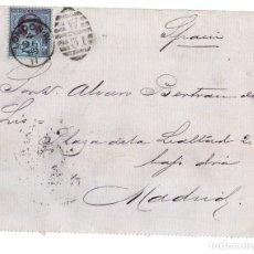 Sellos: SOBRE CIRCULADO LONDRES A MADRID. AÑO 1889. Lote 178946746