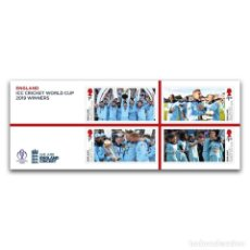 Sellos: GREAT BRITAIN 2019 - ICC MEN'S CRICKET WORLD CUP 2019 MINIATURE SHEET . Lote 179193348