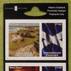 Sellos: GRAN BRETAÑA SCOTLAND SOUVENIR STAMPS. Lote 180649037