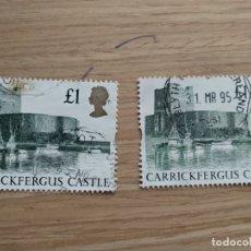 Sellos: GRAN BRETAÑA - CASTILLOS - CARRICKFERGUS CASTLE - CASTILLO DE CARRICKFERGUS.. Lote 181089593