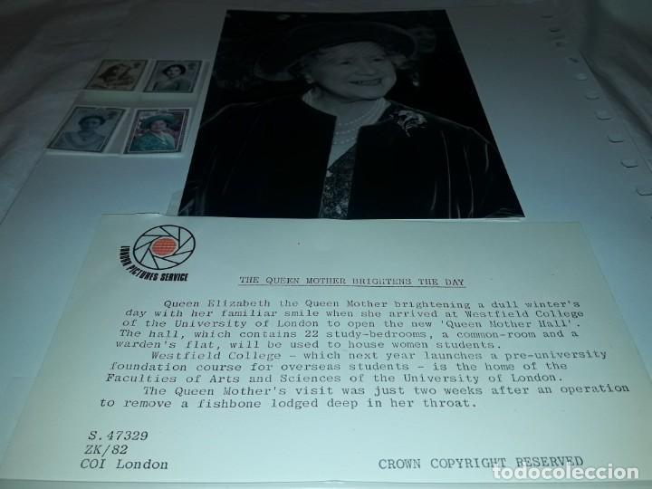 Sellos: Edición especial conmemorativa Reina Madre Elizabeth London Picture Service - Foto 2 - 184780097