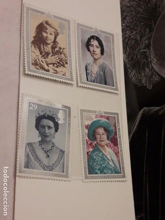 Sellos: Edición especial conmemorativa Reina Madre Elizabeth London Picture Service - Foto 3 - 184780097