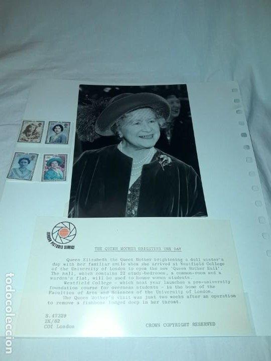 Sellos: Edición especial conmemorativa Reina Madre Elizabeth London Picture Service - Foto 4 - 184780097