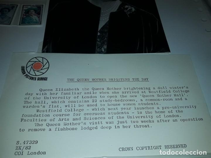Sellos: Edición especial conmemorativa Reina Madre Elizabeth London Picture Service - Foto 5 - 184780097